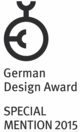 German Design Award: Special Mention 2015