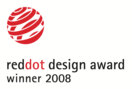 red dot award: product design - honourable mention 2008