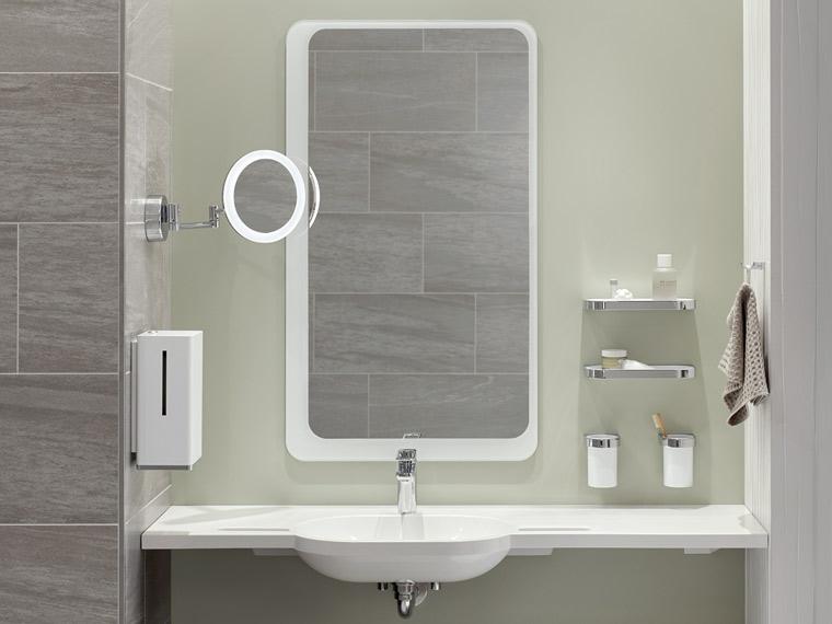 barrierefreies bad einfach gestalten mit hewi. Black Bedroom Furniture Sets. Home Design Ideas